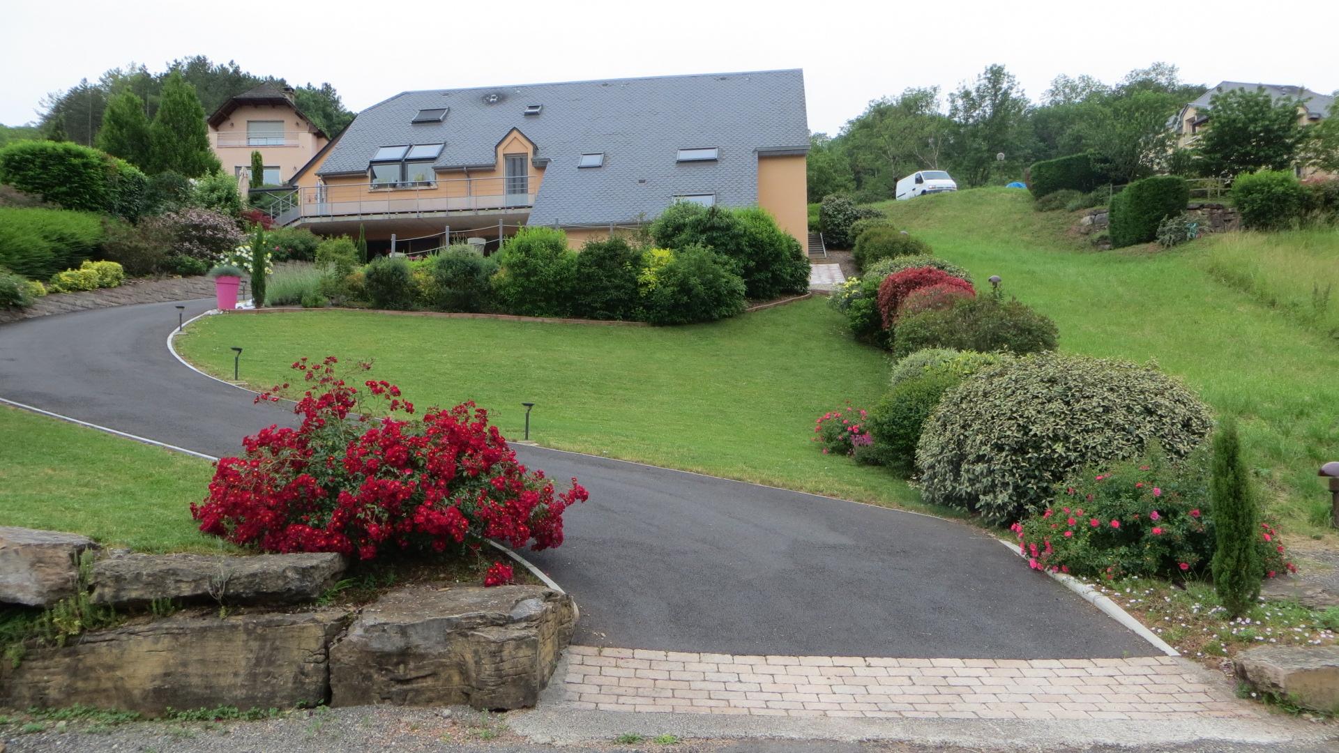 Côté Colline - Chambre d\'hôtes à Marcillac-Vallon en Aveyron - Accueil